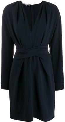 Stella McCartney V-neck split-sleeve dress
