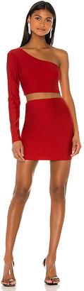 superdown Reva One Shoulder Skirt Set