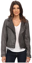 Blank NYC Vegan Leather Moto Jacket