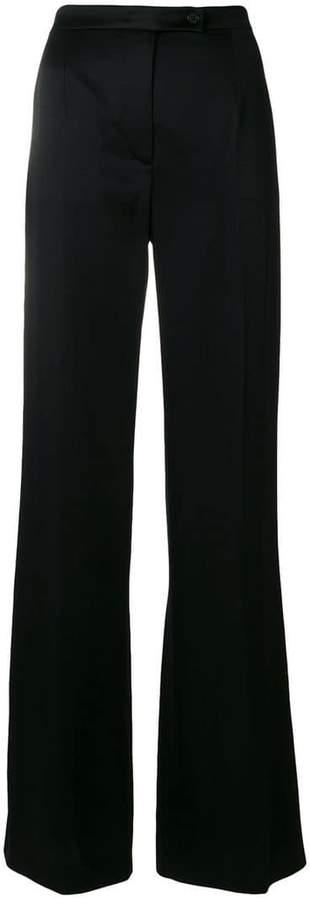 Alberta Ferretti mid-rise flared trousers