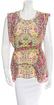 See by Chloe Printed Sleeveless Top