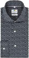 Men's Richard James Mayfair Sprinkles Print Slim Fit Shirt