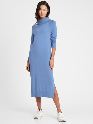 Banana Republic Turtleneck Sweater Dress