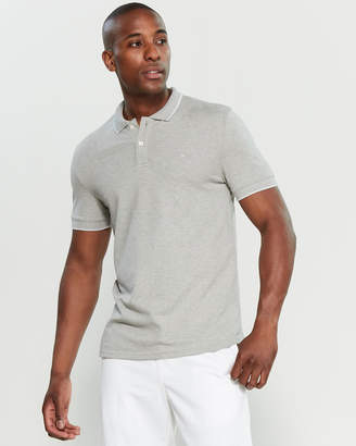 Calvin Klein Jeans Short Sleeve Slim Fit Pique Polo