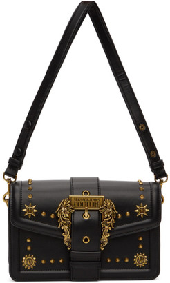 Versace Jeans Couture Black Cowboy Buckle Bag