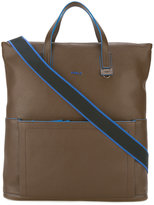 Furla front pocket tote bag - men - Leather - One Size