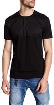 Antony Morato Short Sleeve Mixed Media Shirt
