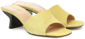 BY FAR Exclusive to Mytheresa Suede sandals