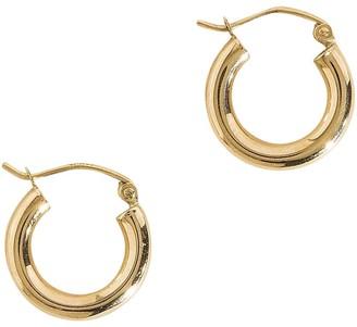 Haati Chai Sifa Thick Hoop Earrings