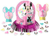 Disney Minnie Mouse 1st Birthday Table Decorating Kit