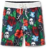 Gap | Star Wars hibiscus board shorts
