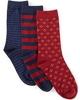 Class Club 3-Pack Dress Crew Socks