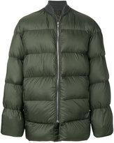 Rick Owens full zip oversized bomber jacket