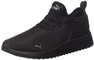 Puma Unisex Adults' Pacer Next Cage Low-Top Sneakers, Black Black Black 1), 10 UK