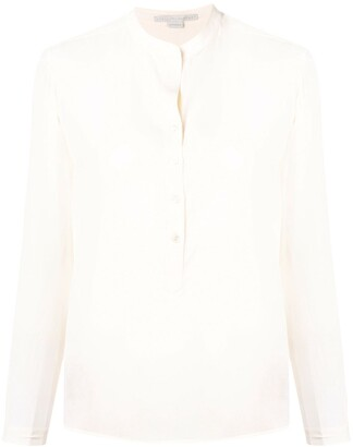 Stella McCartney Band Collar Blouse
