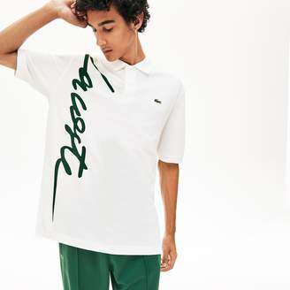 Lacoste Unisex LIVE Signature Cotton Pique Polo