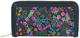 Accessorize Jungle Paradise Large Zip Around Wallet