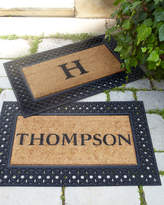 Horchow Personalized Welcome Doormat