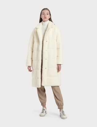 Moncler Reversible Shearling Coat