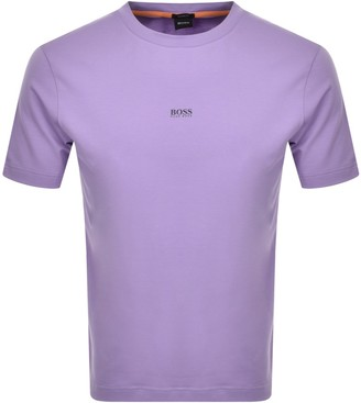 Boss Casual BOSS TChup T Shirt Purple