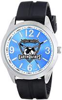 Game Time Men's MLS-VAR-SJ Varsity Analog Display Japanese Quartz Black Watch