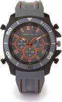 Perry Ellis Grey Silicone Watch
