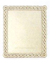 "Jay Strongwater Cream Braided Frame, 8"" x 10"""