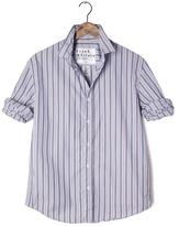 Frank And Eileen Mens Paul Multi Striped Poplin Shirt