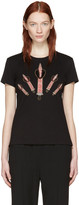 Valentino Black Love Blade T-Shirt