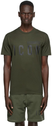 DSQUARED2 Green Icon T-Shirt