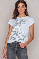 Cheap Monday Have Concrete Logo Tee