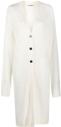 Jil Sander Mid-Length Wool Cardigan