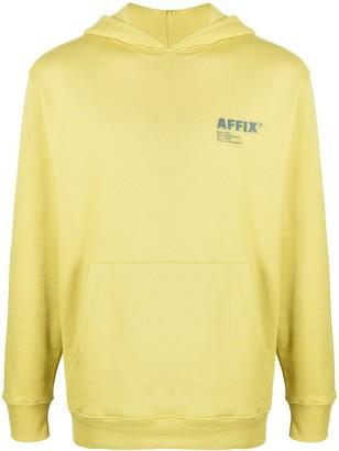 AFFIX Logo Print Hoodie