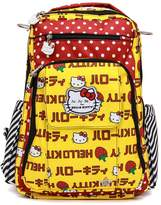 Ju-Ju-Be Hello Kitty Collection Be Right Back Backpack Diaper Bag, Strawberry Stripes