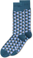 Alfani Hexagon Crew Socks, Created for Macy's