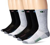 Champion Men's 6-Pack Crew Socks