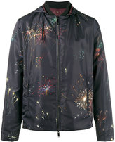 Valentino - reversible fireworks print jacket - men - Cotton/Polyamide/Polyester - 48