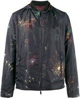 Valentino reversible fireworks print jacket