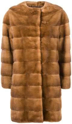 Luce Liska midi fur coat