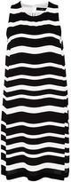 Hallhuber Stripe dress with subtle A-line cut