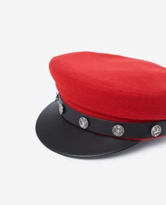 The Kooples Women's luxury cap in red