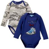 Andy & Evan Glasses, Sneaker, & Camo Bodysuits - Set of 2 (Baby Boys)