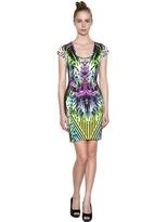 Just Cavalli Printed Heavy Jersey Dress
