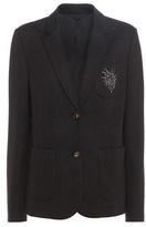 Brunello Cucinelli Embellished Cotton-blend Blazer