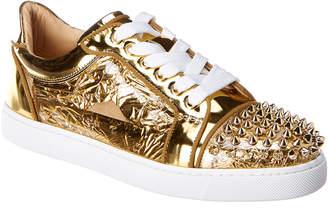 Christian Louboutin Vieira Spikes Patent Sneaker