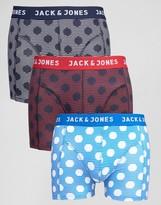 Jack and Jones Trunks 3 Pack Spot