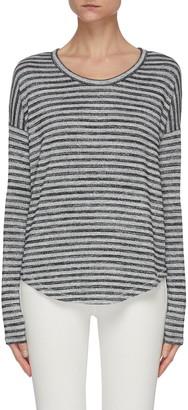 Rag & Bone/JEAN Stripe Crewneck Knit Top