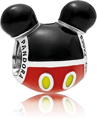 Disney Mickey Mouse ''Playful'' Icon Charm by Pandora Jewelry