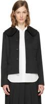 Comme des Garcons Black Large Collar Jacket