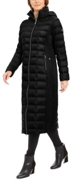 Michael Kors Michael Hooded Maxi Down Puffer Coat